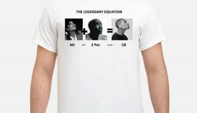 The Legendary Equation MJ Plus 20 Pack Equals CB Shirt