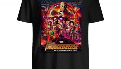 The Murderverse who will laugh and what will be left of them Halloween shirt