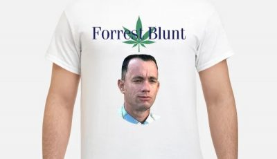 Tom Hanks Forrest Gump Forrest Blunt shirt