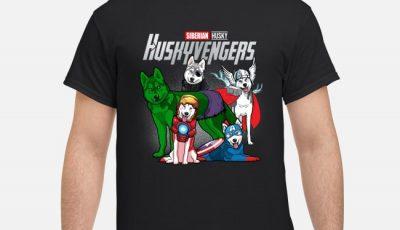 Avengers Endgame Siberian Husky Huskyvengers Shirt