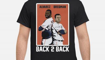 Back 2 Back Yordan Alvarez Alex Bregman Shirt
