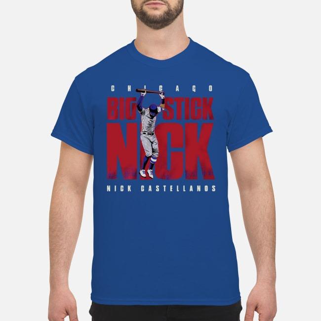 Big Stick Nick Chicago Nick Castellanos Shirt