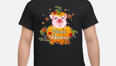 Blessing Nana Pig Pumpkin Halloween Shirt