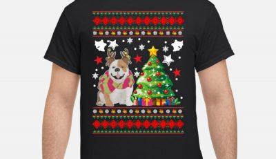 Bulldog Christmas Shirt