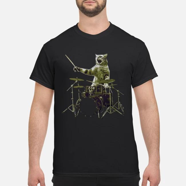 Cat The Drummer Shirt
