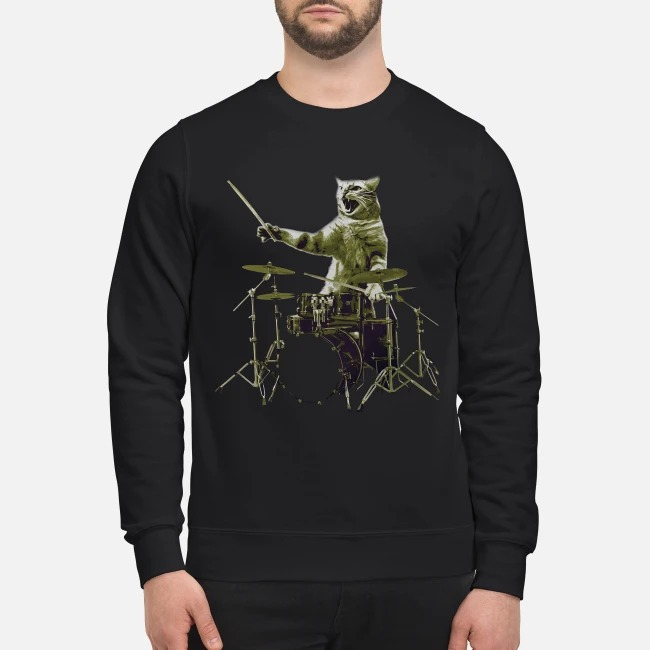 Cat The Drummer Sweater