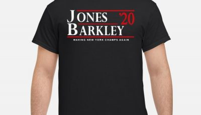 Daniel Jones and Saquon Barkley for President 2020 Shirt