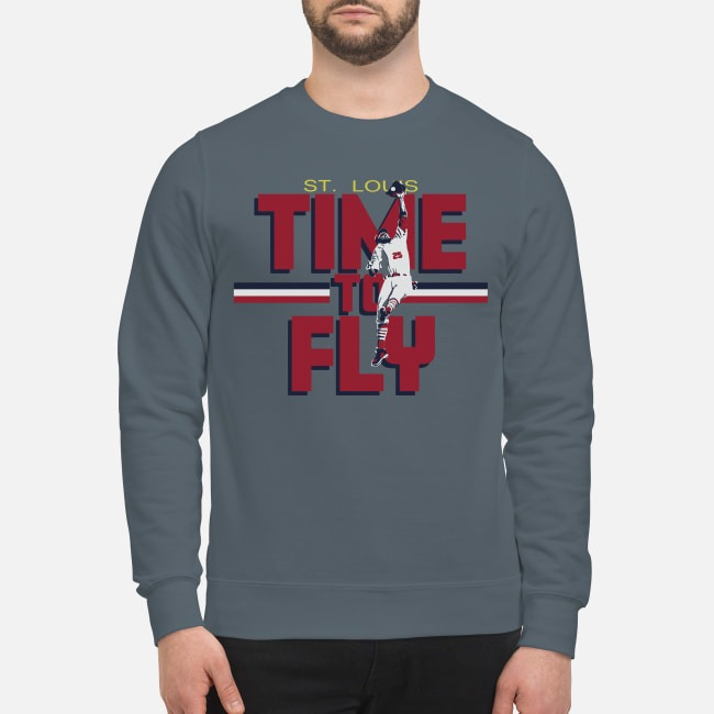 Dexter Fowler St Louis Time To Fly Sweater