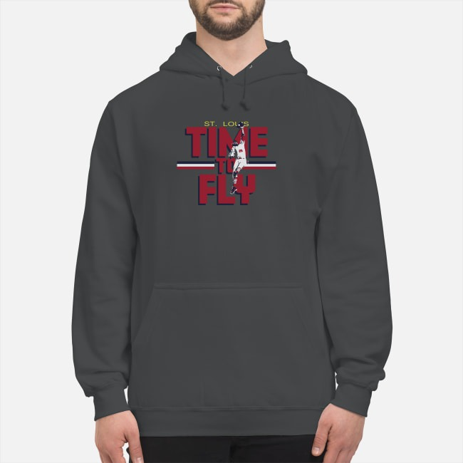 Dexter Fowler St Louis Time To Fly Hoodie