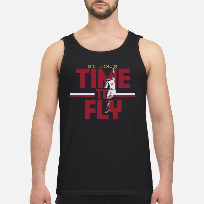 Dexter Fowler St Louis Time To Fly Tank top