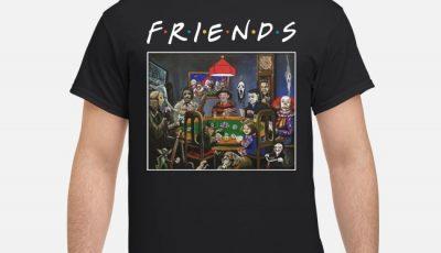 Friends Slashers playing poker shirt
