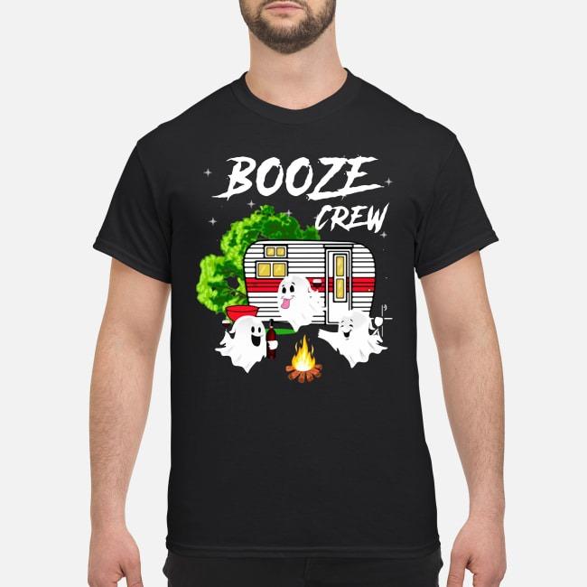 Ghost Booze Crew Camping Shirt