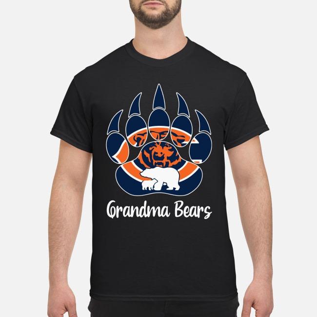 Grandma Bears Cool Gift For Fans Chicago Bears Shirt