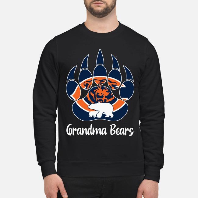 Grandma Bears Cool Gift For Fans Chicago Bears Sweater
