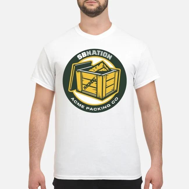 Green Bay Packers SB Nation Acme Packing Co shirt