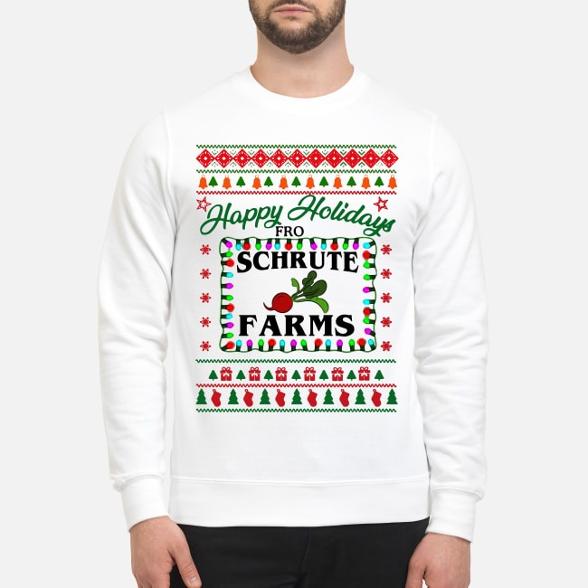 Happy holidays from Schrute farms Christmas Sweater