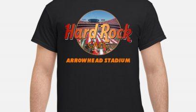Hard Rock Cafe Arrowhead Stadium Shirt