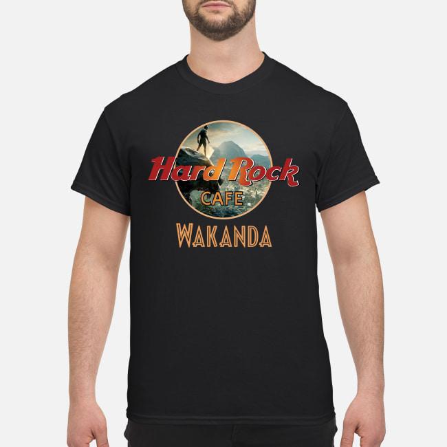 Hard Rock Cafe Wakanda Shirt