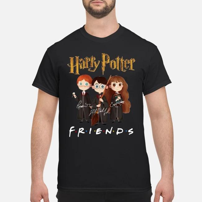 Harry Potter Friends Tv Show Signature Shirt