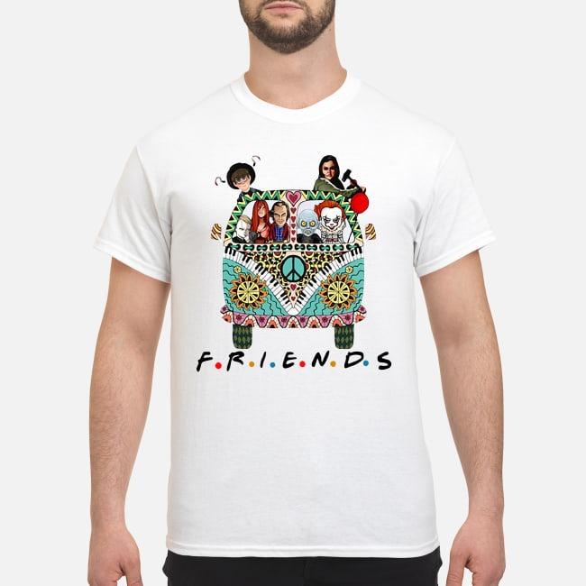 Hippie car friends movie Horror characters shirt