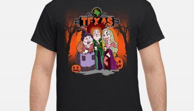 Hocus Pocus Texas Halloween shirt