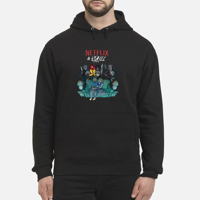 Horror Movie Characters Netflix And Kill Hoodie