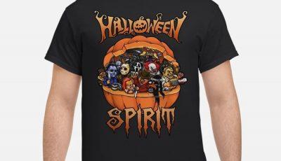 Horror movie characters halloween spirit shirt