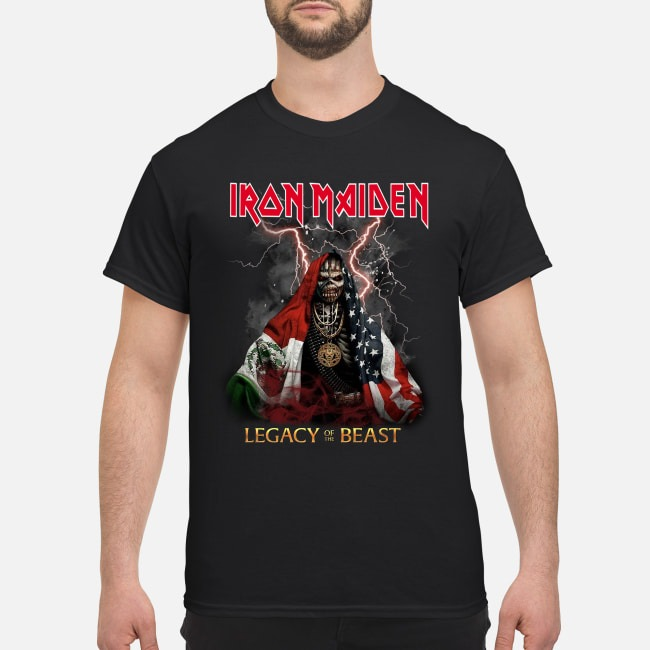 Iron Maiden Legacy Of The Beast Shirt
