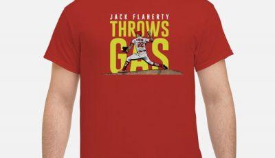 Jack Flaherty Throws Gas Shirt
