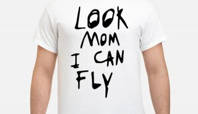 Look mom I can fly shirt