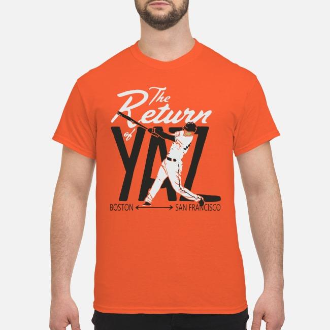 Mike Yastrzemski The Return of Yaz Shirt