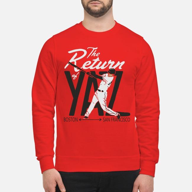 Mike Yastrzemski The Return of Yaz Sweater