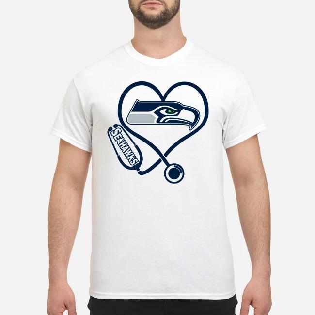 Nurse Heartbeat Seattle Seahawks Shirt