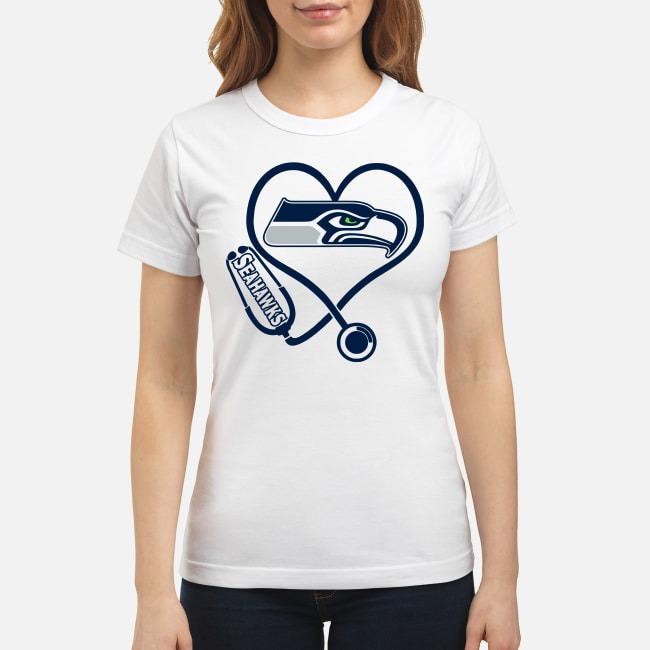 Nurse Heartbeat Seattle Seahawks Ladies