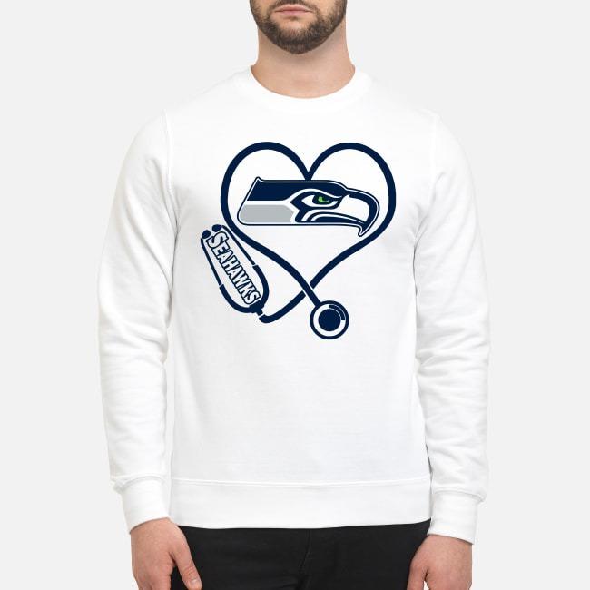 Nurse Heartbeat Seattle Seahawks Sweater