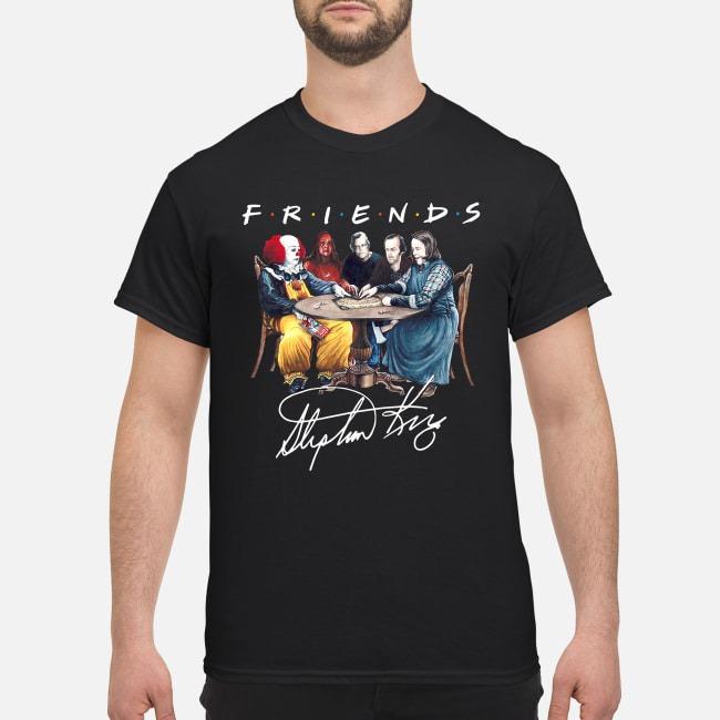Official Stephen King Friends Signature Shirt