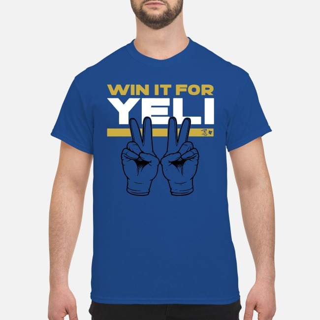 Rally around the Brewers as they try to Win It For Yeli Shirt