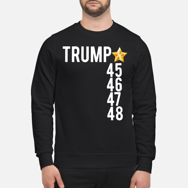 Trump 45 46 47 48 sweater