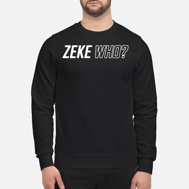 Zeke Who That's Who Sweater