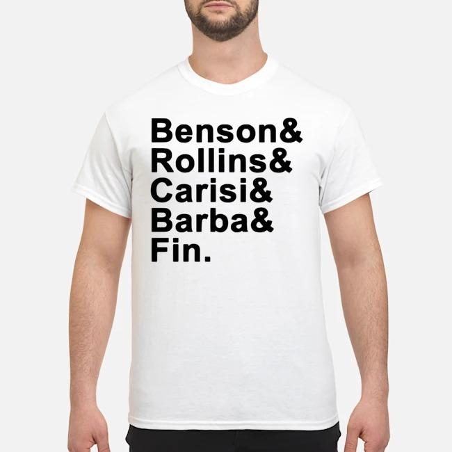 Benson Rollins Carisi Barba Fin Shirt