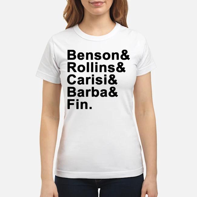 Benson Rollins Carisi Barba Fin Ladies