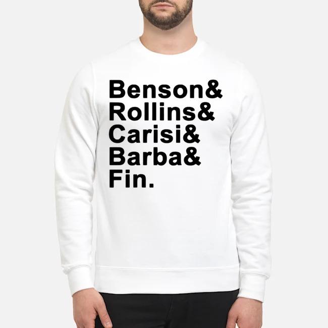 Benson Rollins Carisi Barba Fin Sweater