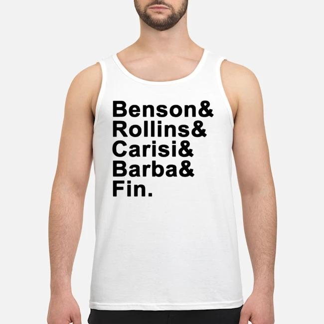 Benson Rollins Carisi Barba Fin Tank top