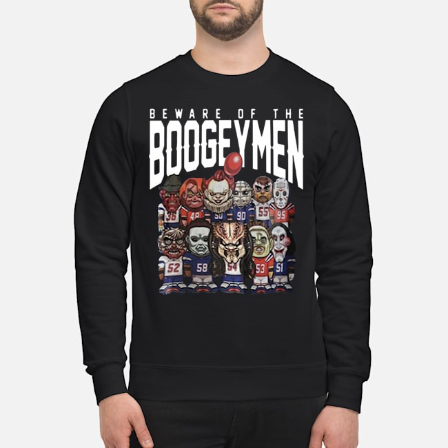 Beware Of The Boogeymen Patriots Sweater