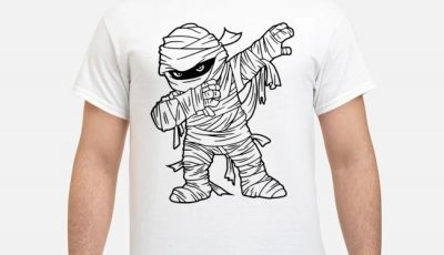 Dabbing Mummy Halloween shirt