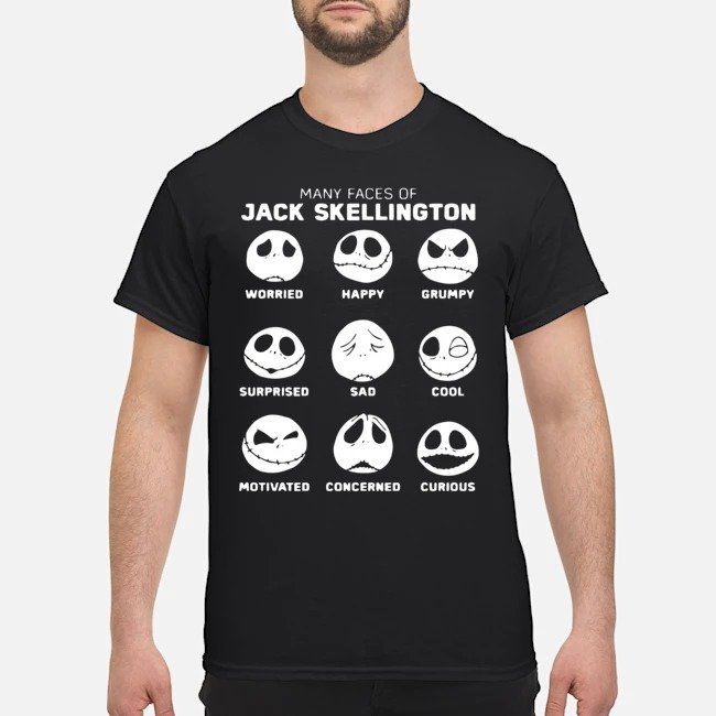 Disney The Nightmare Before Christmas Jack Pumpkin Faces shirt