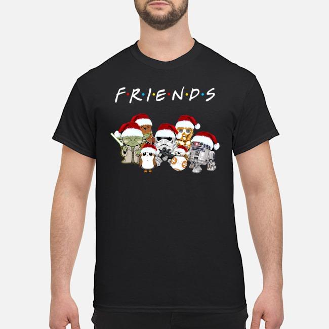 Friend Star Wars Cartoon Character Christmas Shirt