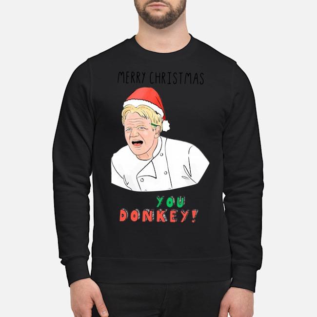 Gordon Ramsay You Donkey Funny Christmas Sweater Sweater