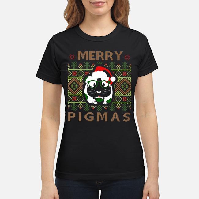Guinea pig Merry Pigmas ugly Christmas ladies