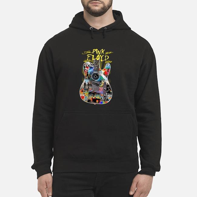 Guitar Pink Floyd signatures hoodie